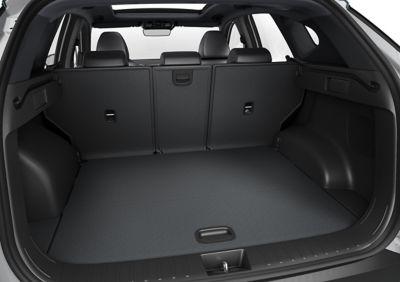 Il bagagliaio di Nuovo SUV compatto Hyundai TUCSON Plug-in Hybrid.