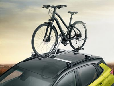 Active takmontert sykkelholder. Foto.