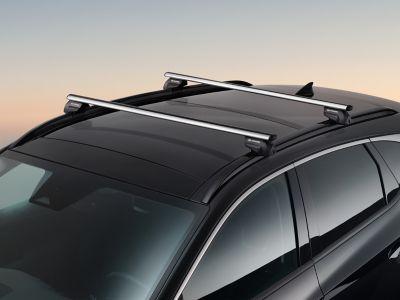 Genuine accessories cross bars for the Hyundai TUCSON.
