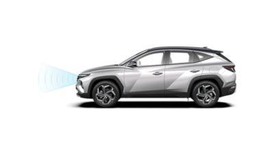Hyundai TUCSON a přední radar