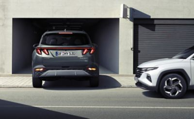 The safety and advanced driver-assistance systems of the all-new Hyundai Tucson compact SUV.