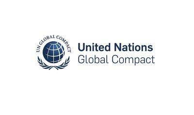 Log til United Nations Global Compact. Logo.