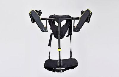 Close-up of Hyundai's VEX exoskeleton vest
