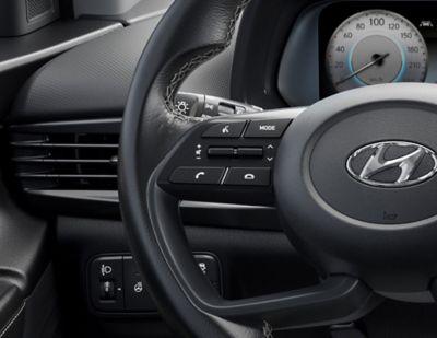 El botón eCall en el nuevo Hyundai i20