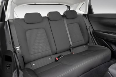 The all-new Hyundai i20 back seats