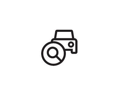 ikona hledat auto