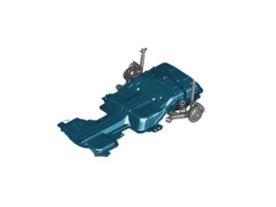 Nuova Hyundai IONIQ Electric - Batteria ai polimeri di litio.