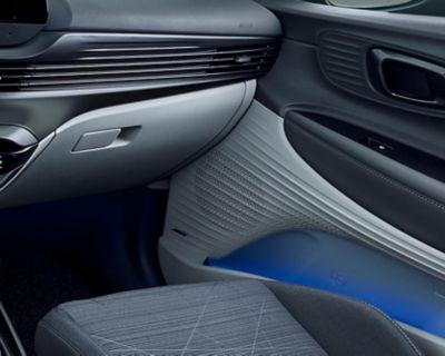Premium system audio BOSE we wnętrzu modelu Hyundai BAYON.