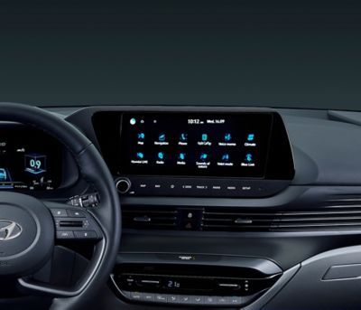 "10.25"" touchscreen of the all-new BAYON."