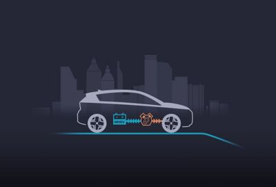 Rijden met constante snelheid in de Hyundai BAYON, de nieuwe, compacte crossover-SUV.