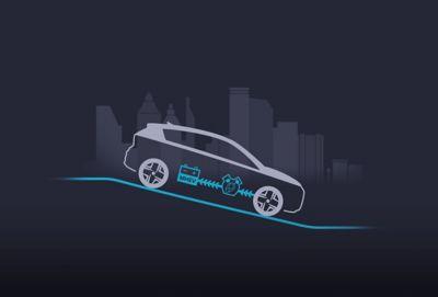 Energieterugwinning in de Hyundai BAYON, de nieuwe, compacte crossover-SUV.