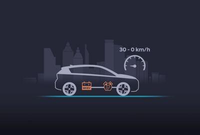 De verlengde start/stop in de Hyundai BAYON, de nieuwe, compacte crossover-SUV.