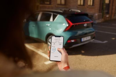 De Hyundai BAYON, de nieuwe, compacte crossover-SUV, ondersteunt Apple CarPlay™ en Android Auto™.