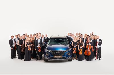 Orchestr PKF Prague Philharmonia s Hyundai Santa Fe