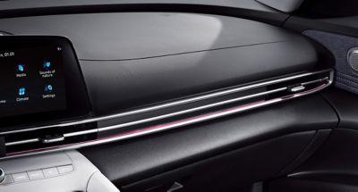 Nowy Hyundai Elantra - 64-kolorowe oświetlenie nastrojowe.