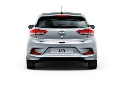Photo showing the Emergency Stop Signal on the Hyundai i20 Coupe.