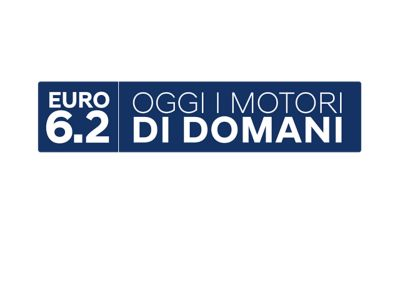 Logo for EURO 6d temp standard.