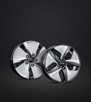Aluminiowe felgi Hyundaia IONIQ Hybrid.