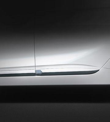 Linia boczna Hyundaia IONIQ Hybrid.
