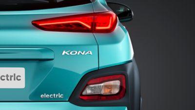 Fari posteriori al LED di Nuova Hyundai Kona Electric.