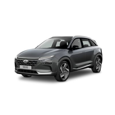 Side view of the all-new Hyundai Nexo.