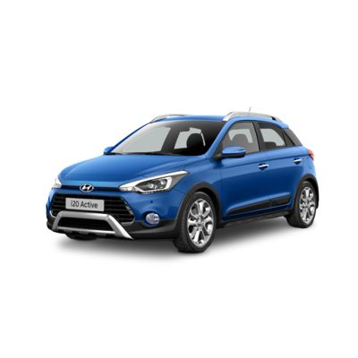 Quarter view image of the New Hyundai i20 Active