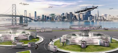 Hyundais visjon for trafikknutepunkt i fremtiden. Video.