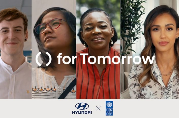 Hyundai Motor and UNDP Accelerator Labs jointly release video featuring sustainable solutions submitted to the 'for Tomorrow' project, narrated by project ambassador Jessica Alba.