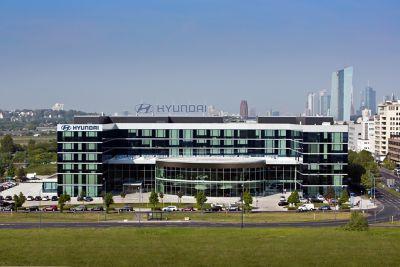 Hyundais hovedkontor i Europa. Foto.