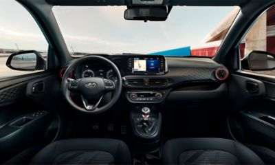 All-New Hyundai i10 N Line dashboard