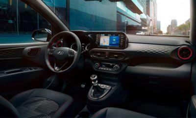All-New Hyundai i10 N Line cockpit