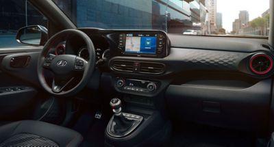 The All-New Hyundai i10 N Line control panel