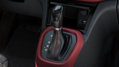 Photo of the 4-speed automatic transmission on the Hyundai i10.