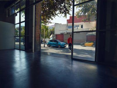 Hyundai i10 driekwart voor