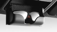 The convenient sunglasses compartment on the new Hyundai i20 Active.