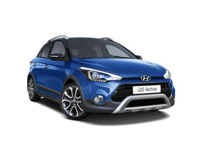 Front view of the new Hyundai i20 Active.