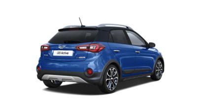Back view of the new Hyundai i20 Active.
