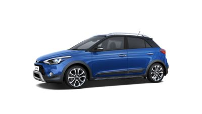 Side view of the new Hyundai i20 Active.