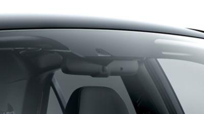 Photo of the rain sensor on the new Hyundai i20.