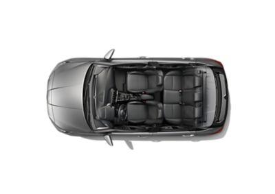 El nuevo Hyundai i20 mostrado desde arriba