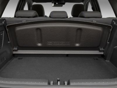 An image of the boot cover storage in the all-new Hyundai i20 N.