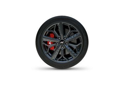 Discos de freno de alto rendimiento del nuevo Hyundai i20 N.