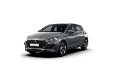 Předoboční pohled na Hyundai i20.