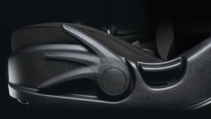 The Hyundai i20 Coupe's easily adjustable driver's seat.
