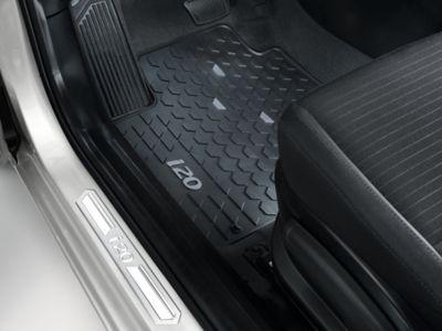 Alfombrillas de suelo originales del Hyundai i20.