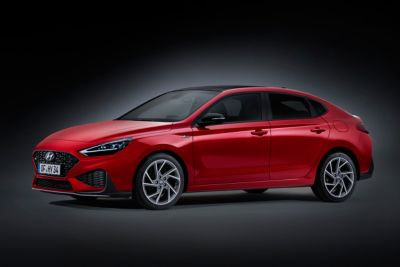 Image of the new i30 N Line Fastback front side