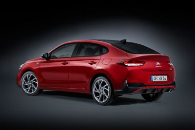 Image of the new i30 N Line Fastback rear side