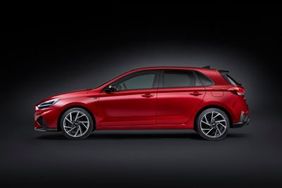 Sideshot of the new i30 N Line