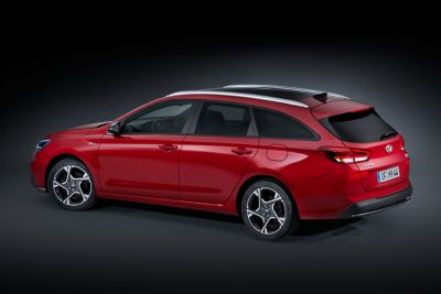 Image of the new i30 N Line wagon rear side