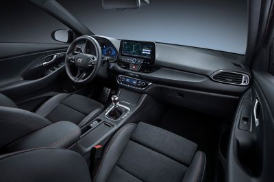 image of the new Hyundai i30 N Line interior